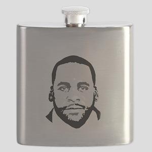 Free Kwame - Round (Dark) Flask
