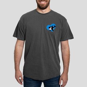 Whale (blue) Mens Comfort Colors Shirt