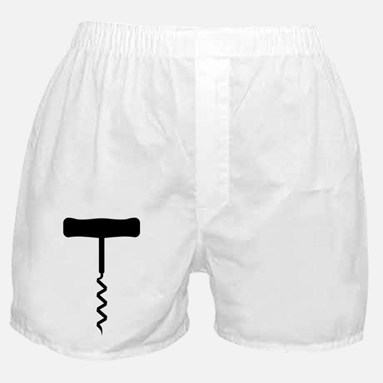 Corkscrew Black Boxer Shorts
