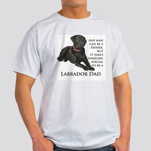 Black Lab Dad Light T-Shirt