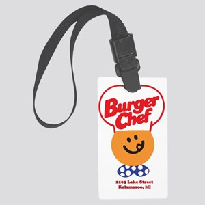 Burger Chef Kalamazoo Lite Large Luggage Tag