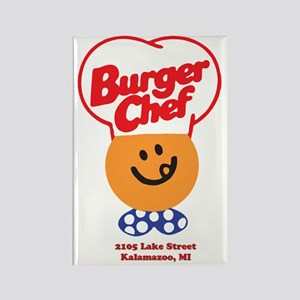 Burger Chef Kalamazoo Lite Rectangle Magnet