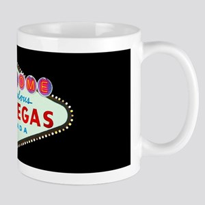 Las Vegas Sign Black 11oz Mug