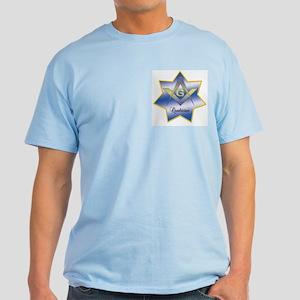 Masonic Quadrivium 7 point star Light T-Shirt