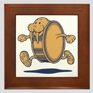 walrus-rundrum-T Framed Tile