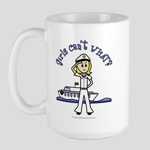 Light Captain Large Mug