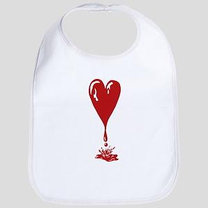 Dripping Heart Bib