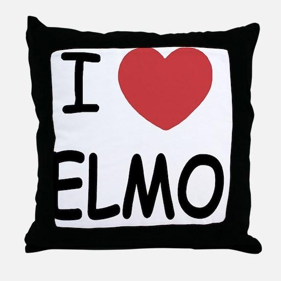 ELMO01 Throw Pillow