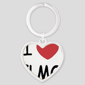 ELMO01 Heart Keychain