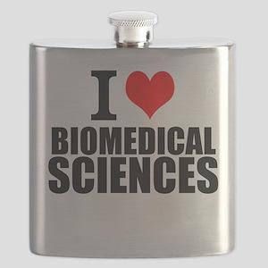 I Love Biomedical Sciences Flask