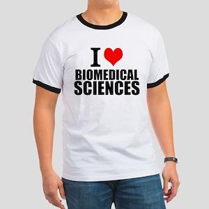 I Love Biomedical Sciences T-Shirt