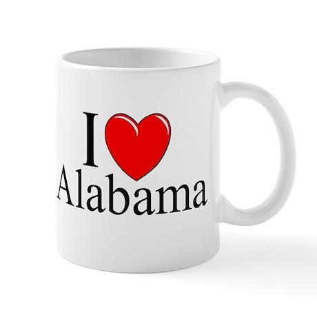 """""""I Love Alabama"""" Mug"""