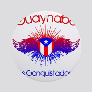 Guaynabo W Round Ornament
