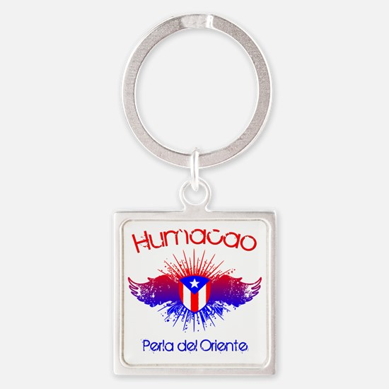 Humacao W Square Keychain