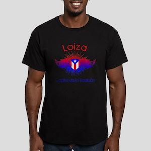 Loiza W Men's Fitted T-Shirt (dark)
