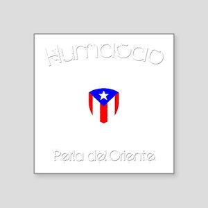 "Humacao B Square Sticker 3"" x 3"""
