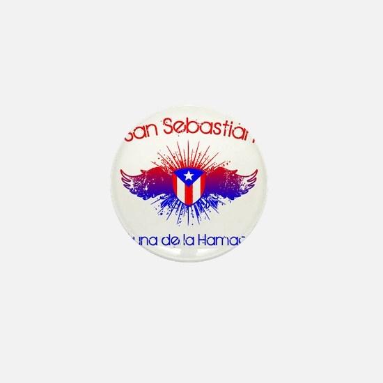San Sebastian W Mini Button