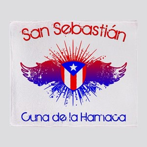 San Sebastian W Throw Blanket