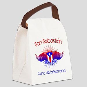 San Sebastian W Canvas Lunch Bag