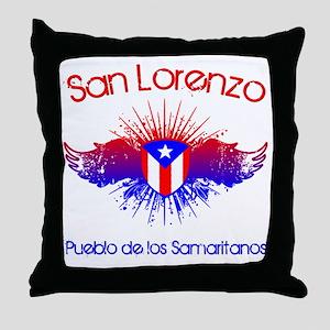 San Lorenzo W Throw Pillow