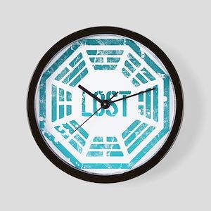 Lost Dharma Blue Wall Clock