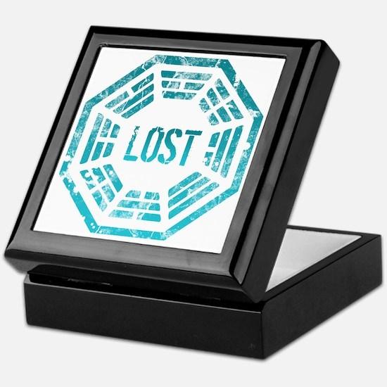 Lost Dharma Blue Keepsake Box