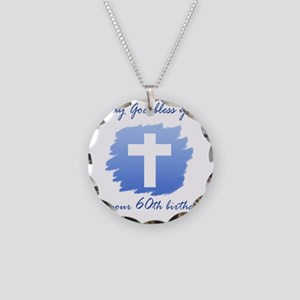 Cross60 Necklace Circle Charm