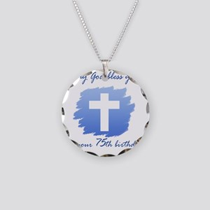 Cross75 Necklace Circle Charm