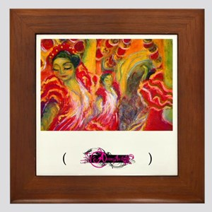 Flamenco, Framed Tile