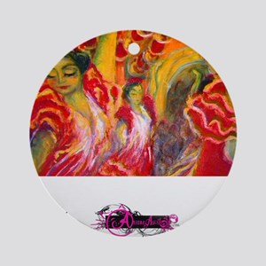 Flamenco, Ornament (Round)