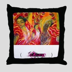 Flamenco, Throw Pillow