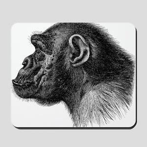 Chimp Profile Mousepad
