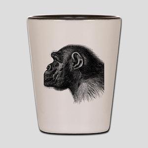 Chimp Profile Shot Glass