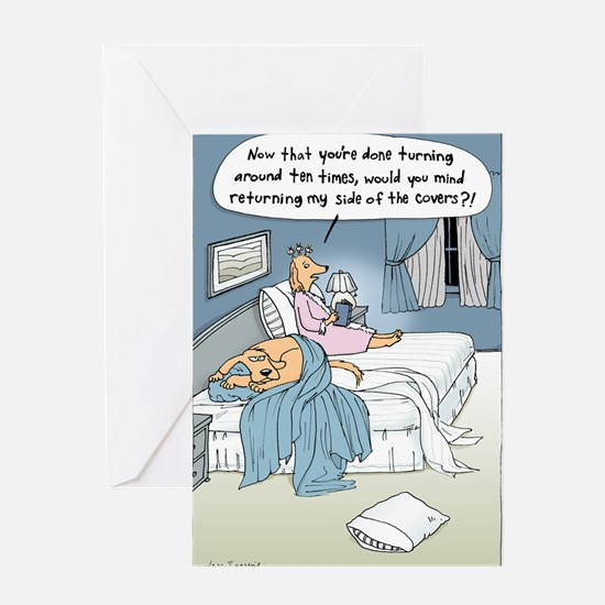 """The Marriage Bed"" Greeting Cards"