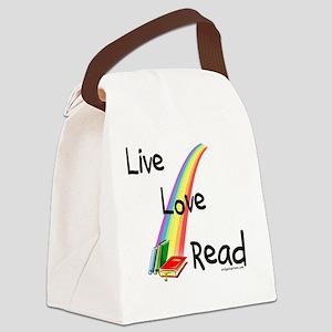 liveloveread Canvas Lunch Bag