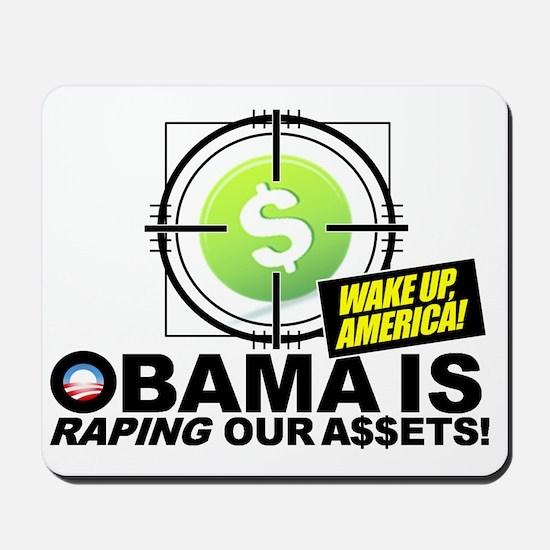 2012-Obama-Recession Mousepad