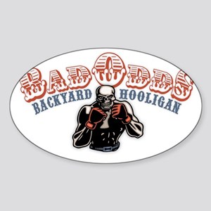 Bad-Odds-CAP Sticker (Oval)