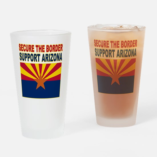 1borderaz Drinking Glass