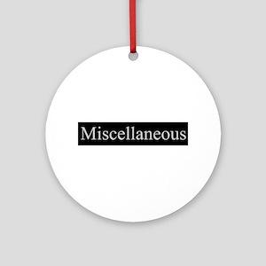 Miscellaneous Ornament (Round)