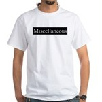 Miscellaneous White T-Shirt