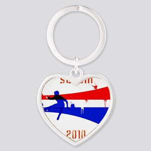 Serbia copy Heart Keychain