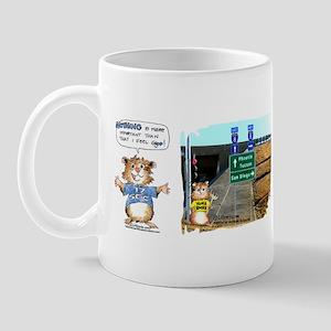 4AbrahamsterCartoons Mug