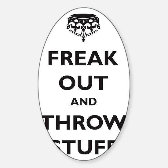 freak-out Sticker (Oval)