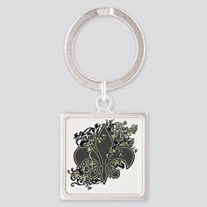 Fleur De Lys Keychains - CafePress 58bef1840