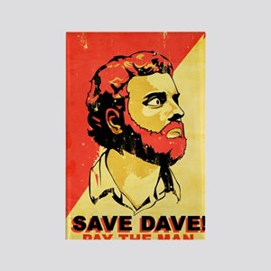 savedave Rectangle Magnet