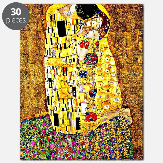 The Kiss by Gustav Klimt Puzzle