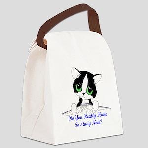 studynowcat Canvas Lunch Bag