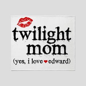 Twilight Mom MP Throw Blanket