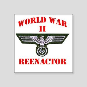 "WWII german tshirt3 Square Sticker 3"" x 3"""