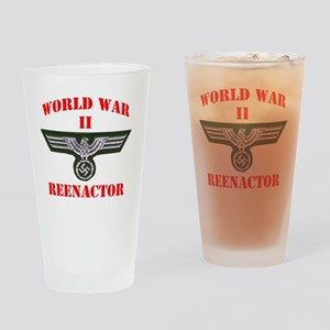 WWII german tshirt3 Drinking Glass